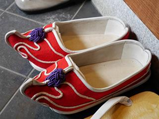 和正和尚の靴