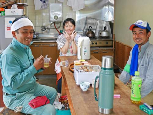 左から川嶋さん、綾子さん、吉野さん